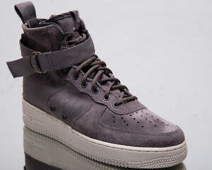 Nike SF Air Force 1 Mid Men New Gunsmoke Wolf Grey Lifestyle ... 8881a754f