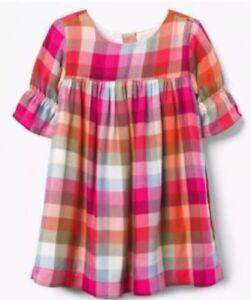 NWT Gymboree Creative Types Pink Purple Flower Floral Dress Girls Size 2t