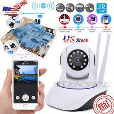 Wireless Pan Tilt 720P Security Network CCTV IP Camera Night Vision WIFI Webcam