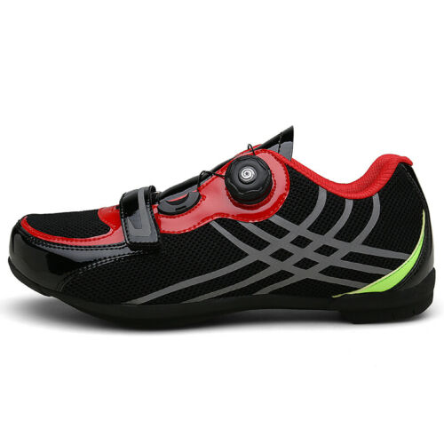 Men Breathable Pro Self-Locking Cycling Shoes Road Bike Athletic Racing Sneakers