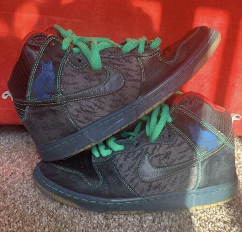 """Nike SB Dunk High Premium Size 8 313171-006 """"Twin"""