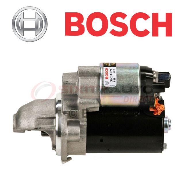 Bosch Starter Motor For 2010-2011 BMW 535i GT 3.0L L6