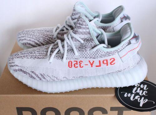 4 7 Sizes 11 Adidas Blue 3 9 V2 All 12 5 6 Boost Tint Yeezy 10 350 B37571 8 New 1x1Uq4P