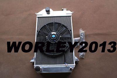 56mm Aluminum radiator for TRIUMPH TR4 1961 1962 1963 1964 1965 Manual MT