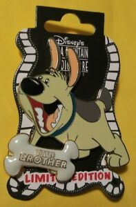 Disney-Little-Brother-Dog-with-Bone-Bone-LE-300-Pin-DSF-DSSH-Mulan-NEW