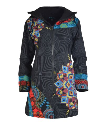 Femmes coat Multi Manches Coton Trench Veste Longues Modèle TxTqAr4