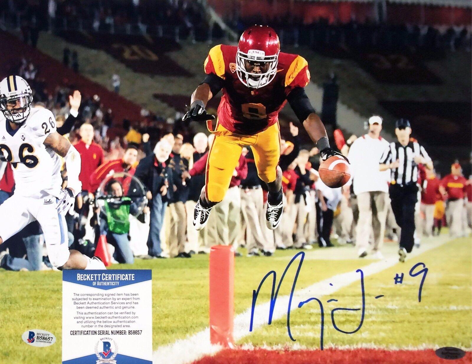 USC Jacksonville Jaguars Marqise Lee Signed 11x14 photo BAS Cert # B 58657