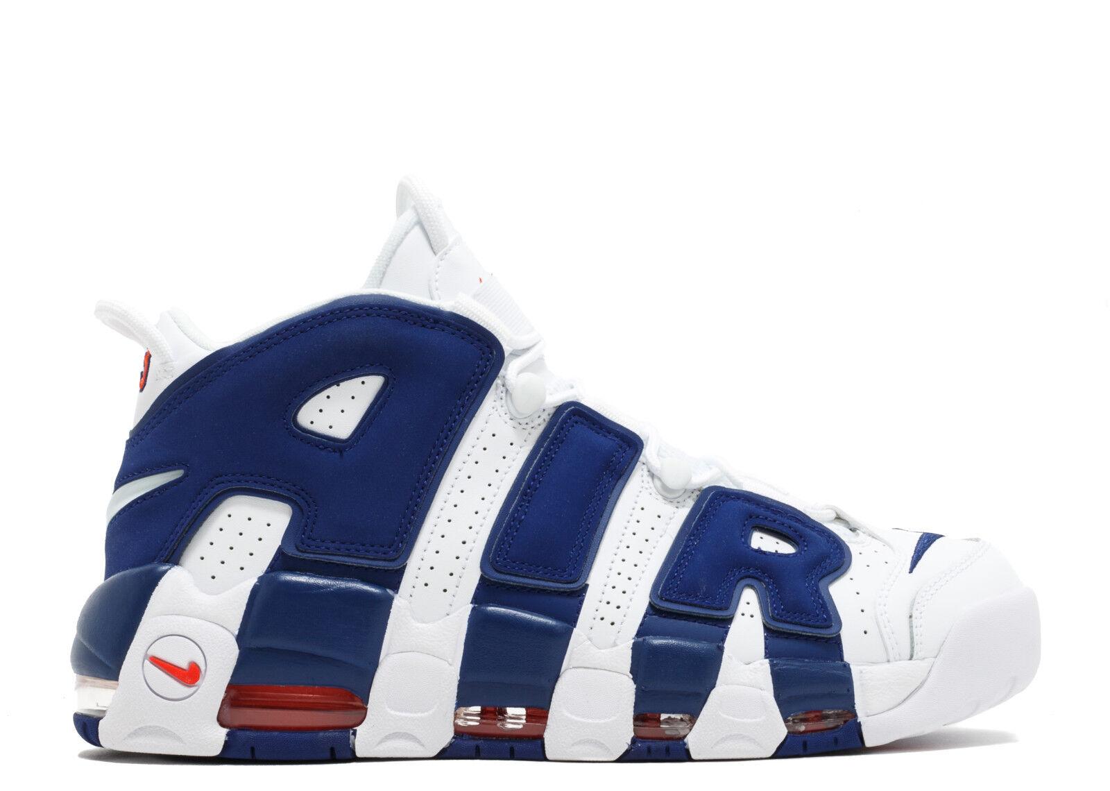 Nike Air More Uptempo '96 NY Knicks Royal Blue Ewing Pippen 921948-101 size 8-13