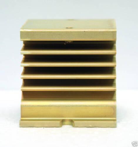 1pc Aluminum Heatsink KH060-50 80x50x50mm WxHxL for SSR KYOTTO Taiwan