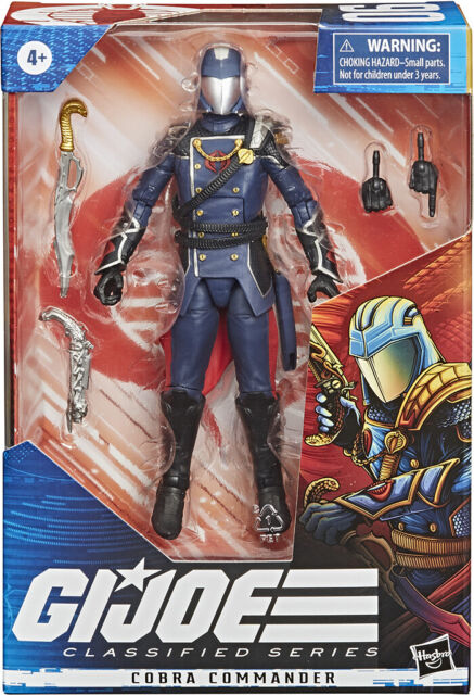 G.I. Joe Classified 6 Inch Action Figure Series 2 Cobra Commander #06 IN STOCK