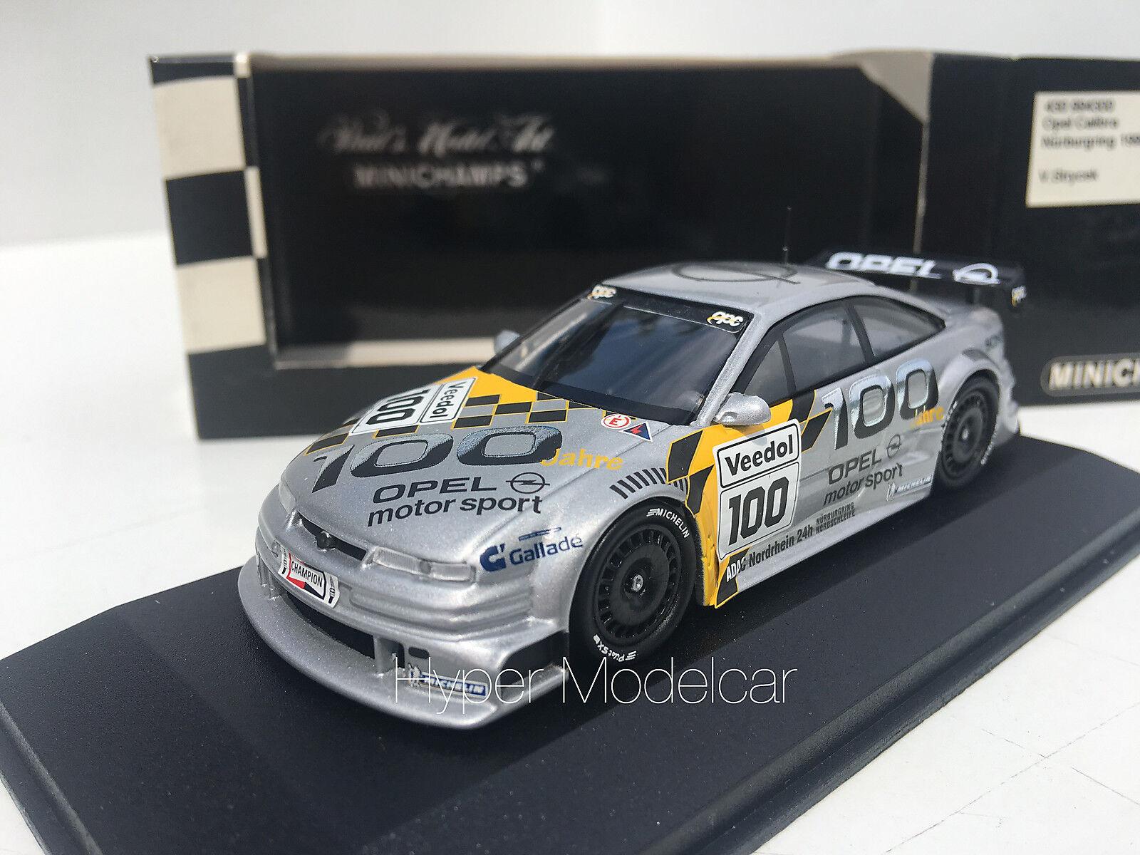 Minichamps 1 43 Opel Calibra V6  100 Nurburgring 1999 Art.430994300