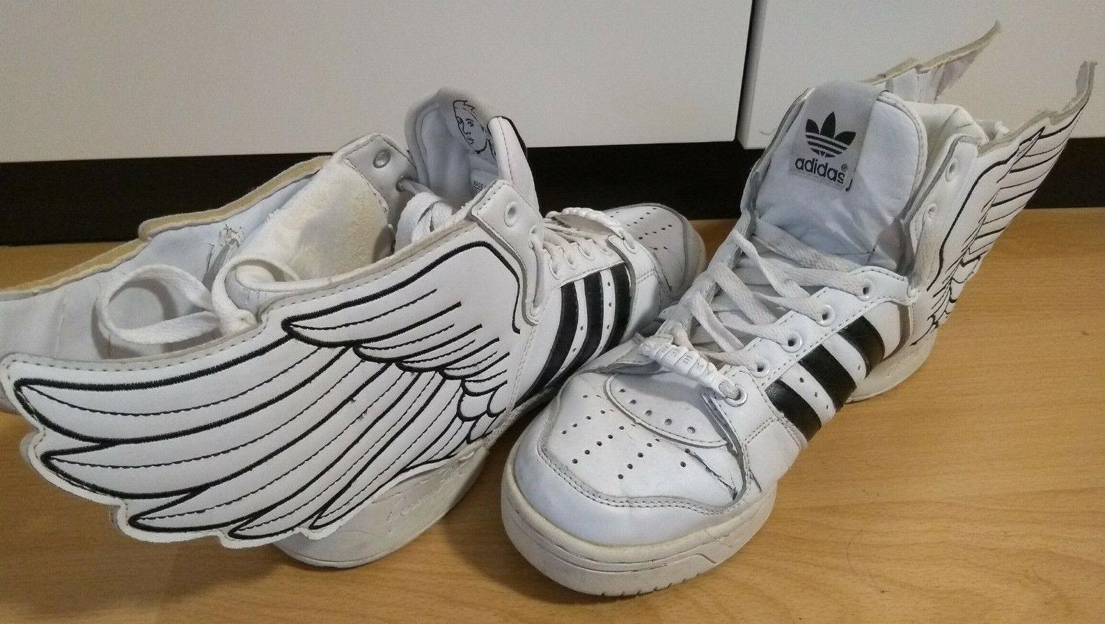 Adidas Jeremy Scott schwarz Weiß wings