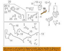 Infiniti NISSAN OEM 05-06 Q45-Power Steering Return Hose 49725AR71A