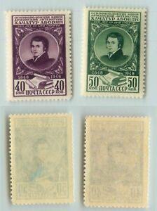 LA-RUSSIE-URSS-1948-SC-1275-1276-Z-1226-1227-neuf-sans-charniere-perturbe-Gum-d8725