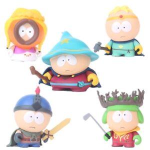5Pcs Cute South Park Stan Kyle Eric Kenny Leopard Action Figure Toys Gift 6CM