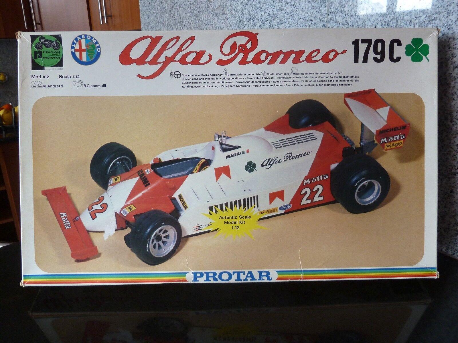 1 12 Prougear, Alfa Romeo 179C (not  Tamiya)  pour pas cher