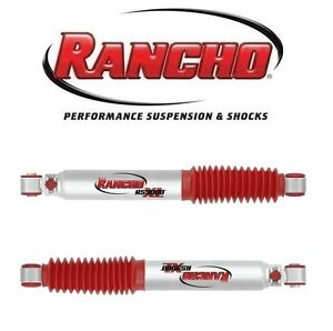 Rancho-RS999047-Pair-Set-Of-2-Rear-Shocks-w-2-Lift-Shocks-for-Ford-F350-4WD