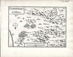 Antique-maps-Gouvernement-de-Nismes