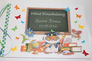 Details Zu Gästebuch Einschulung Schulanfang 1 Schultag Geschenk