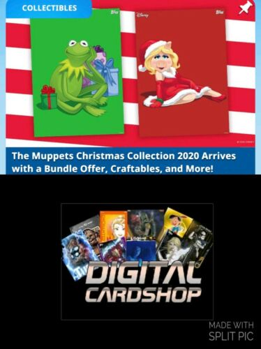 Topps Disney Collect Muppets Christmas Ornament Craftables Mixed Lot of 40