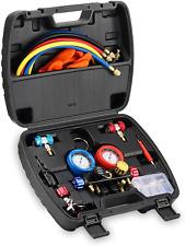 Hvac Gauges With Hoses Ac Manifold Gauge Set R410a R134a R12 R22 Refrigerant