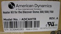 American Dynamics - Discover Dome Surveillance Camera Heater Kit - Adcahtr