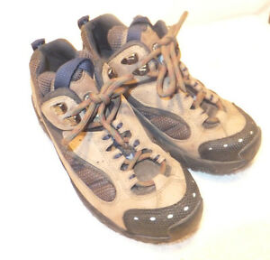 cf598d8f00e6 Image is loading TIMBERLAND-Mountain-Athletics-Hiking-Trail-Shoes-Tan-Suede-