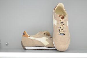 Scarpe-uomo-Diadora-Heritage-Equipe-ITALIA-sneakers-beige