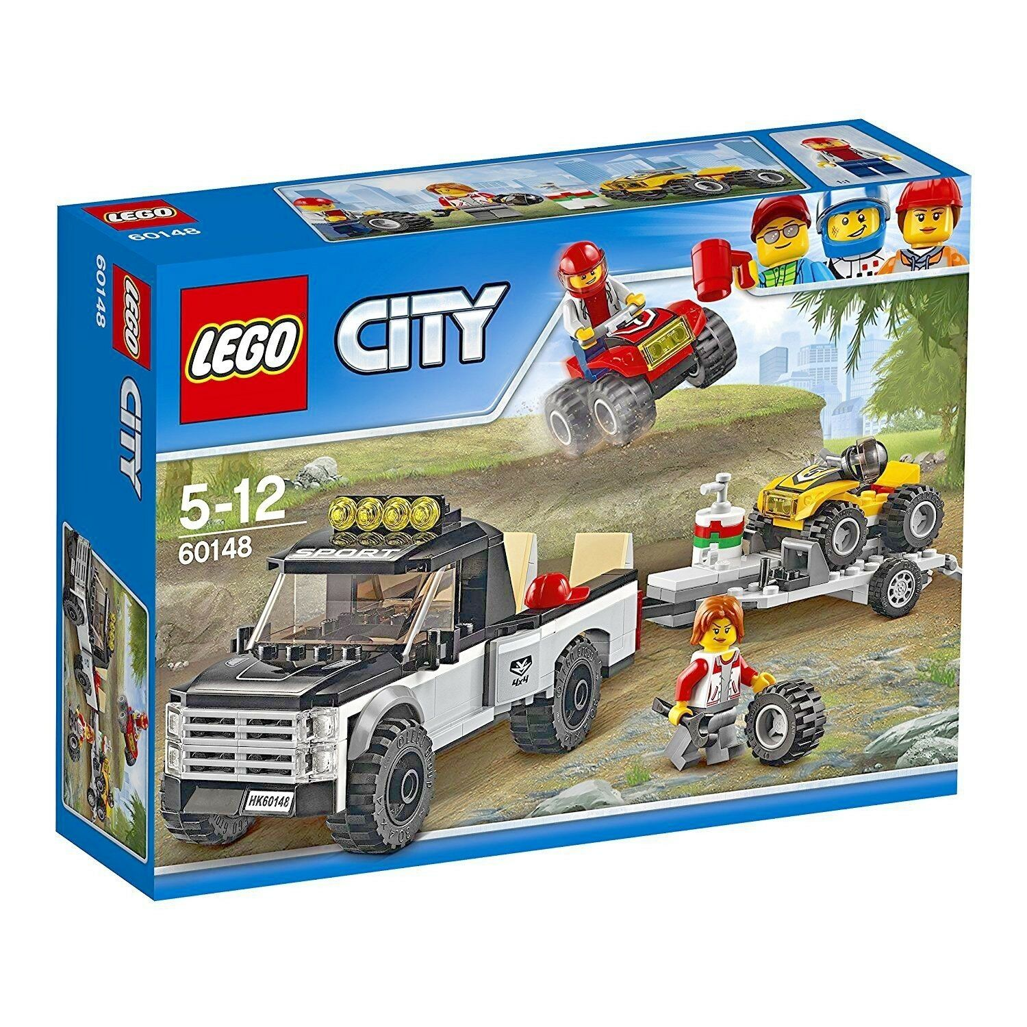 LEGO City_60148_Great Vehicles ATV Race Team 239_ Brand New Sealed Set