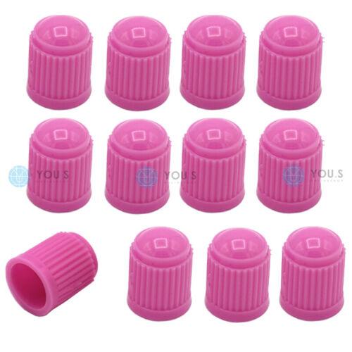12 Stück YOU.S Kunststoff Pink Ventilkappen Ventil Kappe Autoventil Auto PKW LKW