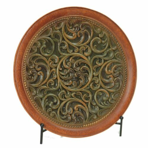 DECORATIVE CHARGER PLATE WITH STAND CHARGER PLATE HOME DECOR TABLE DECOR