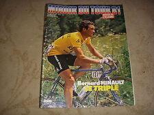 MIROIR DU CYCLISME 305 08.1981 MIROIR du TOUR 1er HINAULT TOUS les RESULTATS