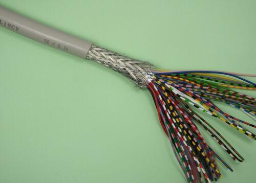 Steuerleitung flexibel geschirmt UNITRONIC LiYCY 50x0,25mm² Lapp Kabel 0034450 R