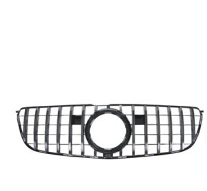 Front-Bumper-Grille-Grill-For-Mercedes-Benz-GLS-Class-16-18-X166-GLS400-GT-R