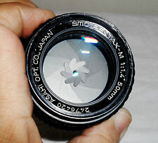 ASAHI PENTAX SMC PENTAX M 50MM F1.4 FASTEST PRIME LENS IN  GOOD CONDITION!!!