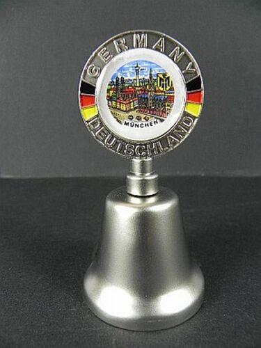 Metallglocke Souvenir München  Marienplatz Germany Deutschland,8cm,Tischglocke