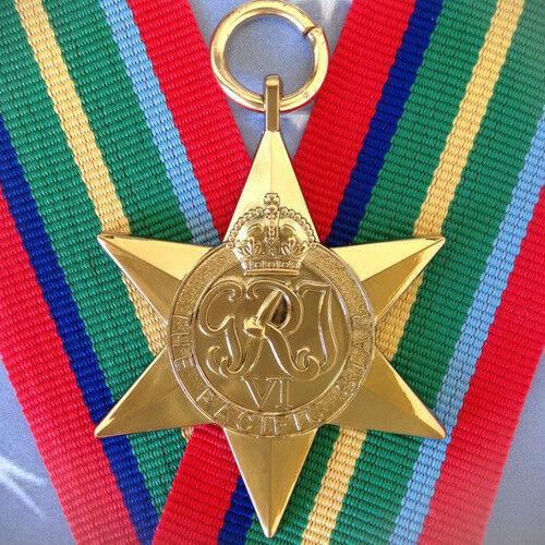 WWII Pacific Star Medal | AUSTRALIA | NEW ZEALAND