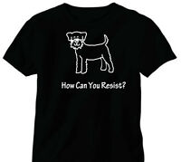 Parson Russell Terrier Dog Kid's Or Adults T-shirt -how Can You Resist?