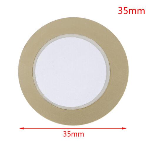 10Pcs 12-50mm piezo elements sounder sensor pad round trigger drum disc coppe BF