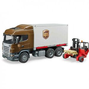 Scania Ups Truck avec chariot élévateur