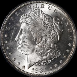 1885-S-Morgan-Silver-Dollar-PCGS-MS63-Blast-White-Superb-Eye-Appeal