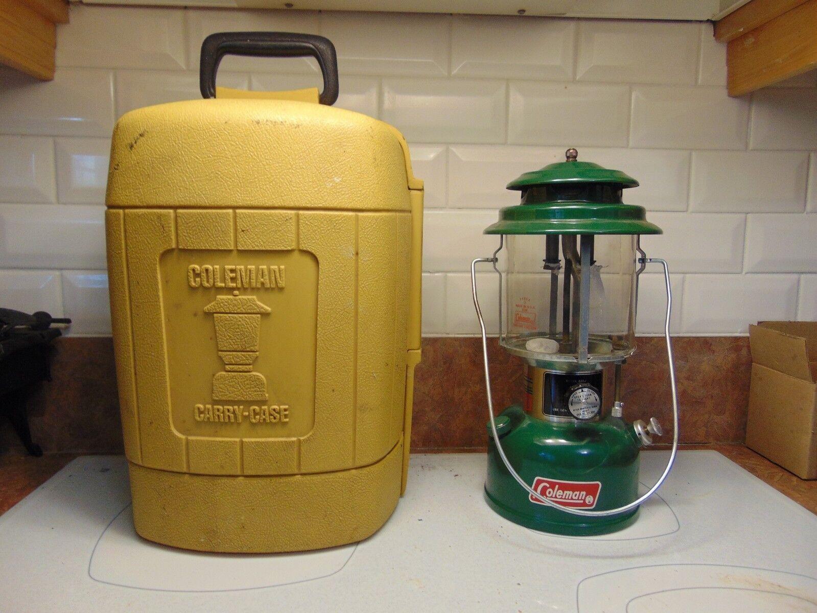 Vintage   lantern coleman   220 j   plus case    nice  cheap online