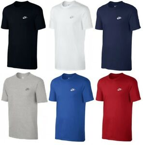 New-Men-039-s-Nike-Logo-T-Shirt-Top-Retro-Vintage-Branded-Sports-Cotton