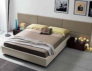 Pannello imbottito camera da letto testata testiera parete composizione design