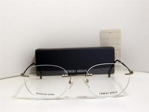 443a923e17d Image is loading Classic-Authentic-Giorgio-Armani-Rimless-Eyeglasses-GA-800-