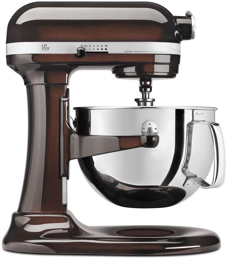 New KitchenAid KP26M1Xes Pro 600 Stand mixer 6 Qt Espresso Big Grande capacité