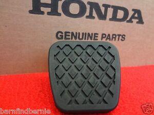 honda brake  clutch pedal pad accord civic prelude crx element cr  oem ebay