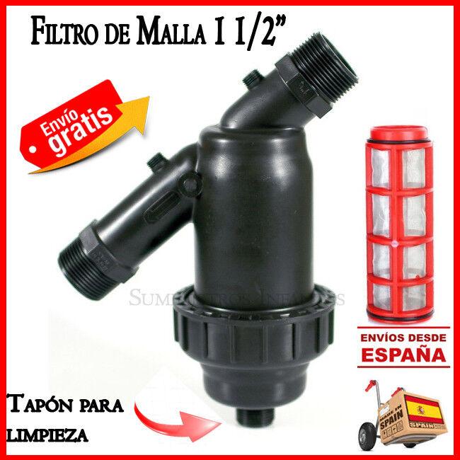 "s l1600 - Filtro de malla 50mm para sistemas de riego Irritec 1 1/2"" Filtro goteo filter"