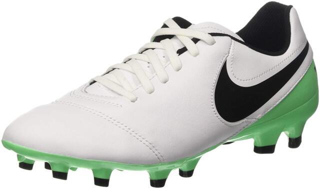 super popular 343ec 35146 NEW Nike Men s Tiempo Genio II Leather FG Football Cleat Size 11.5 NIB
