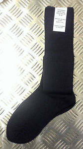 Genuine-British-Army-Wool-Nylon-NAVY-Long-Thin-Socks-Stockings-Lot-BRAND-NEW